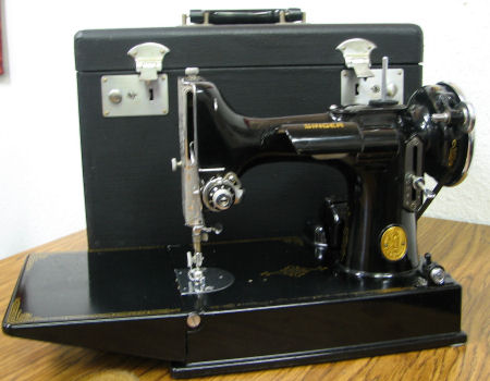 Singer Featherweight History